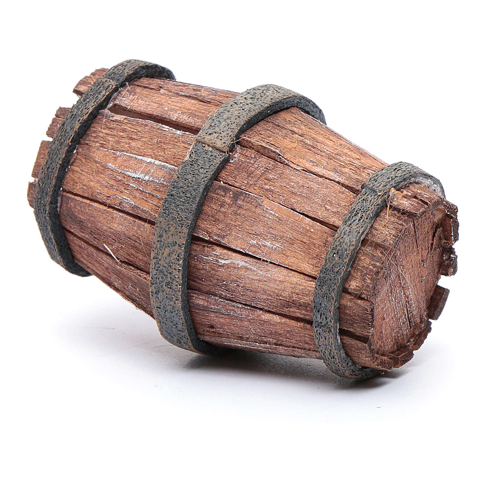 Botte legno per presepe 7,5 cm 4