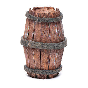 Botte legno per presepe 7,5 cm s1