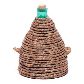 Damigiana cono per presepe 8,5 cm s1
