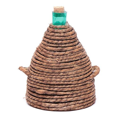 Damigiana cono per presepe 8,5 cm 1