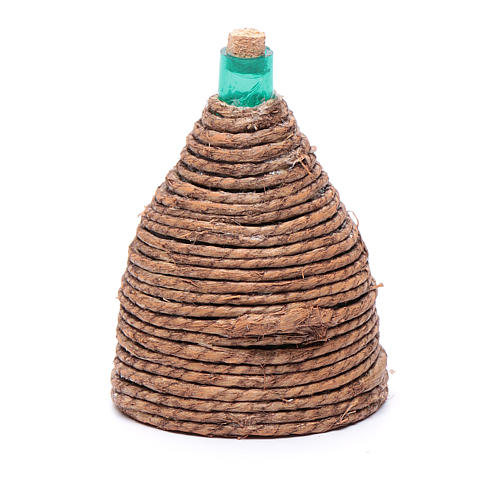Damigiana cono per presepe 8,5 cm 2