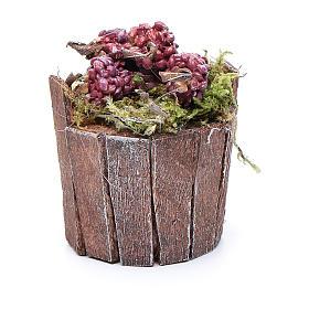 Cuve raisin rouge pour crèche 5 cm s2