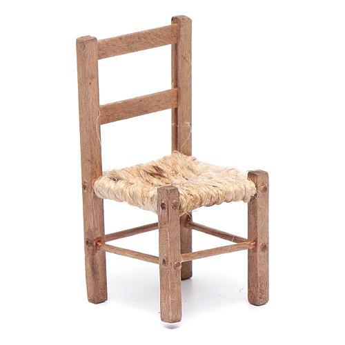 Sedie In Legno Fai Da Te.Sedia Presepe Fai Da Te Legno E Corda 7 Cm Vendita Online Su Holyart