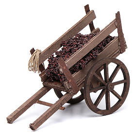 Neapolitan Nativity Scene: Cart with grapes for Neapolitan nativity scene