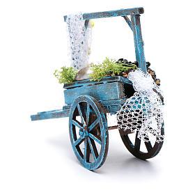 Fishmonger cart for Neapolitan nativity scene s3