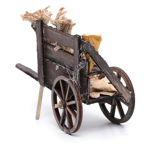 Bread cart for Neapolitan nativity scene 3