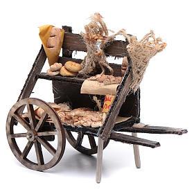 Carro con pane presepe napoletano s1