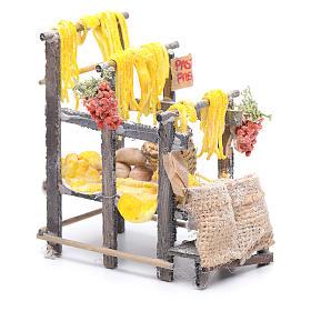 Banchetto con pasta e sacchi presepe napoletano s2