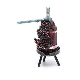 Mini wine press for Neapolitan nativity scene s2