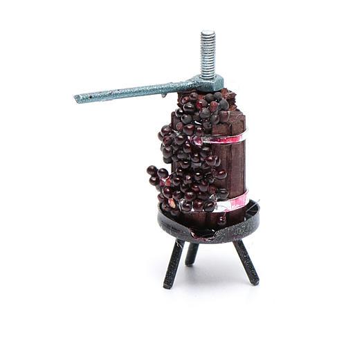 Mini wine press for Neapolitan nativity scene 2