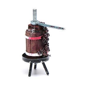 Prensa para vino mini belén napolitano s1