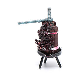 Torchio per vino mini presepe napoletano s2