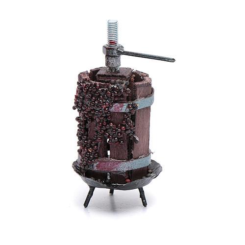 Prensa con uva para belén bricolaje 1