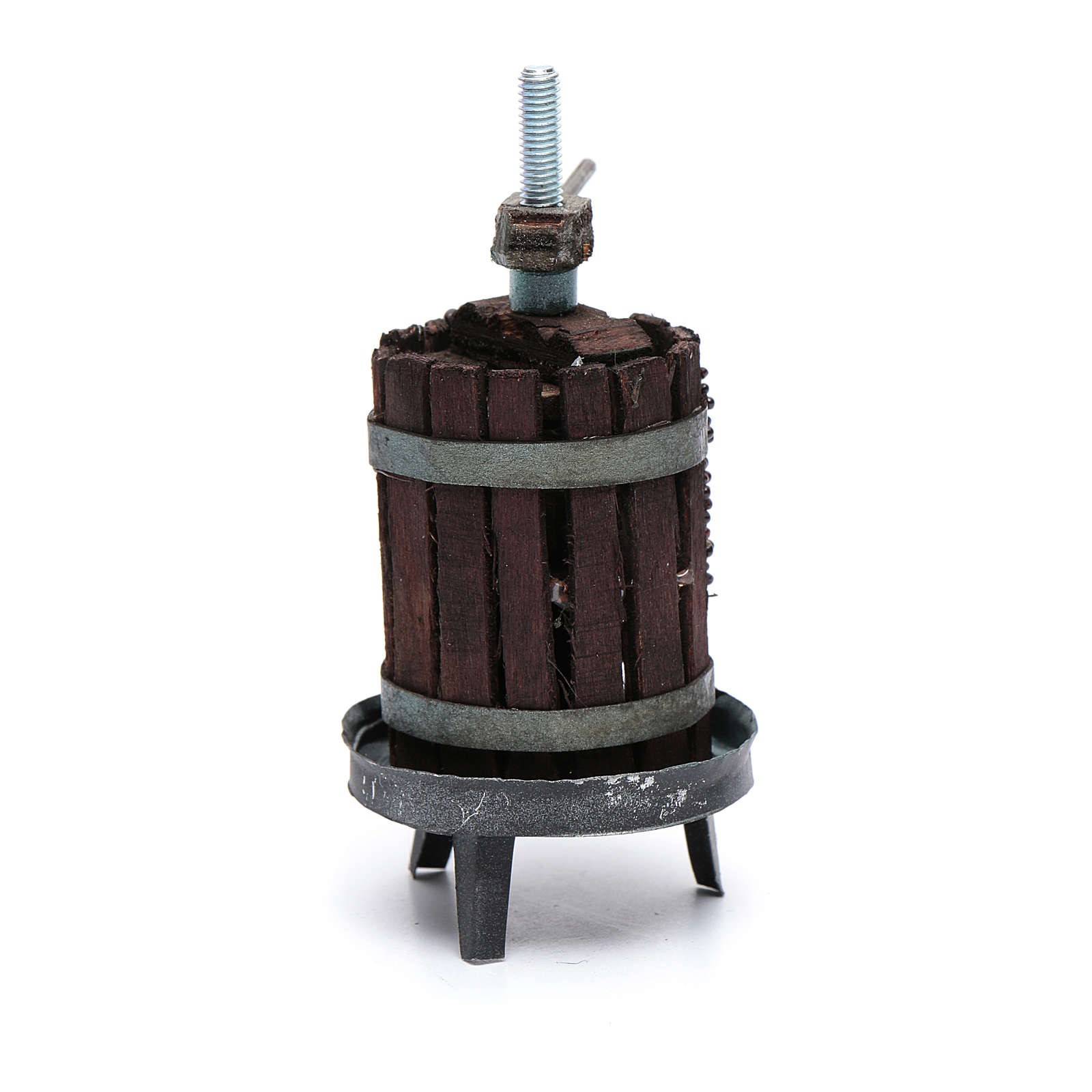 Torchio per vino presepe napoletano 4