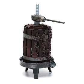 Torchio per vino presepe napoletano s1