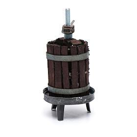 Torchio per vino presepe napoletano s3