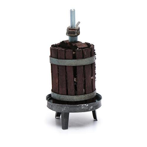 Torchio per vino presepe napoletano 3
