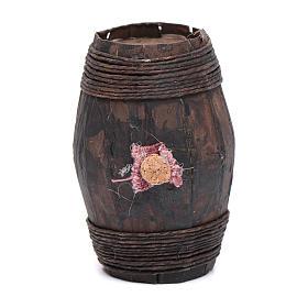 Botte legno 8 cm articolo presepe napoletano s1