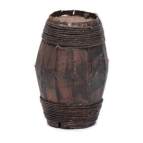 Botte legno 8 cm articolo presepe napoletano s2