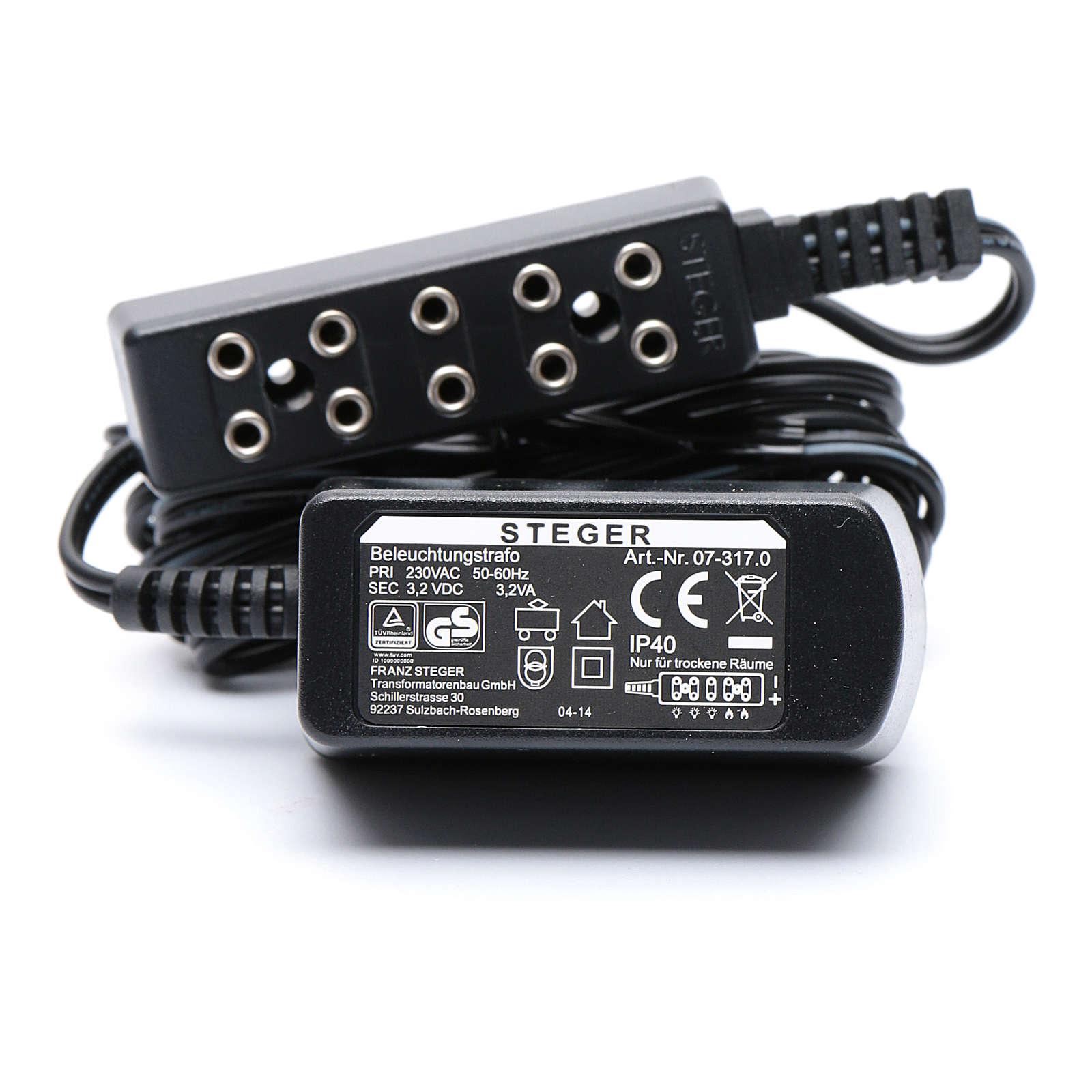 Trasformatore per illuminazione 230V - 3,2V 4