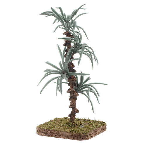 Palma con foglie rigide - 13 cm accessorio per presepe 2