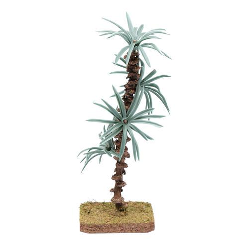 Palma 18 cm con foglie rigide accessorio per presepe 1