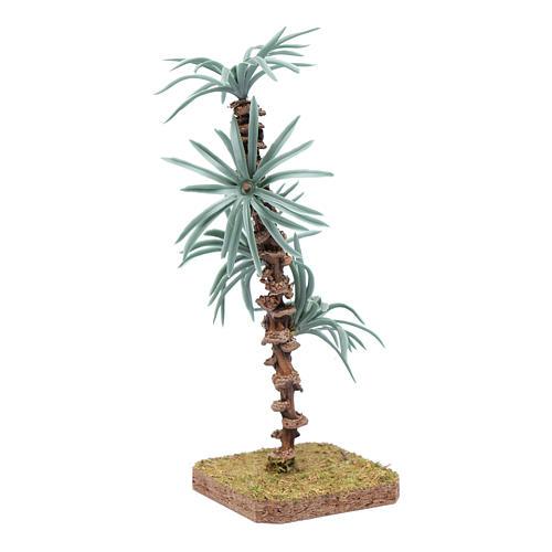 Palma 18 cm con foglie rigide accessorio per presepe 2