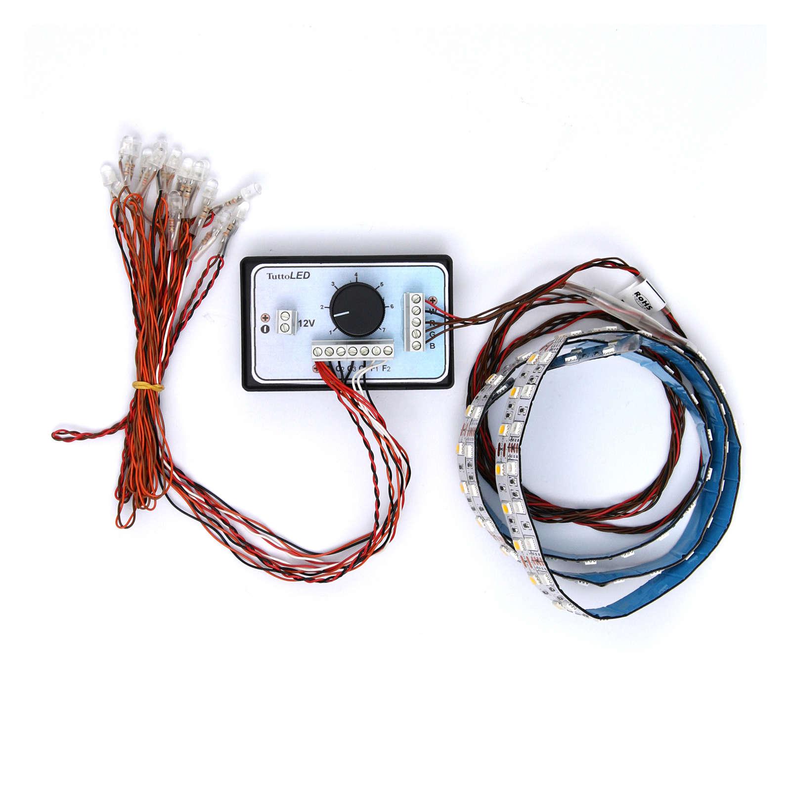 Controlador luz gradual día y noche 4 canales 12V 4