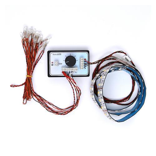 Controlador luz gradual día y noche 4 canales 12V 1