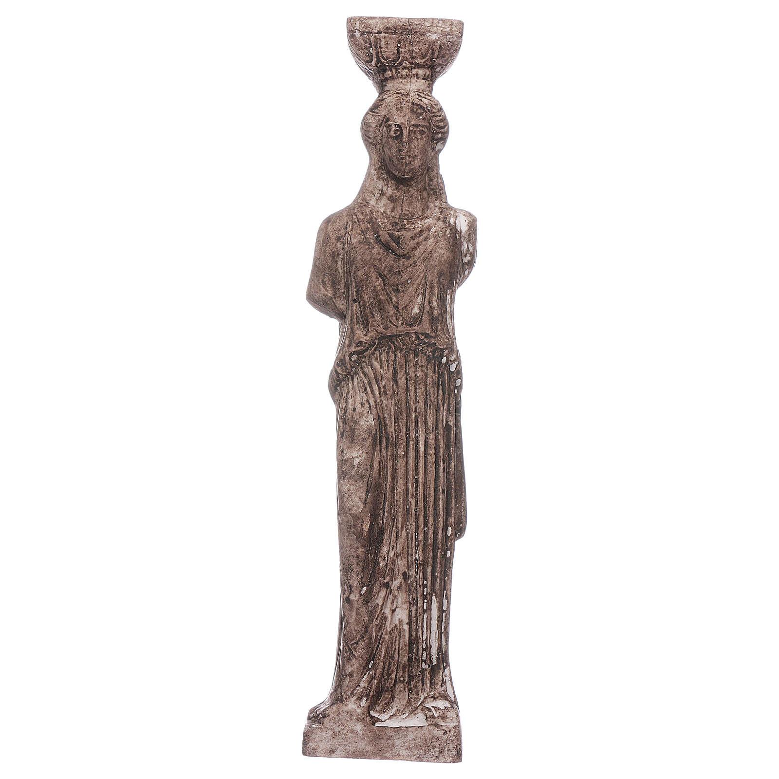 Greek goddess in resin 15 cm 4