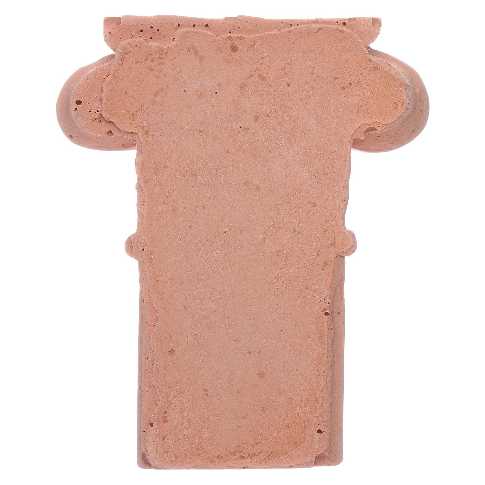 Semi-capitel de terracota 4