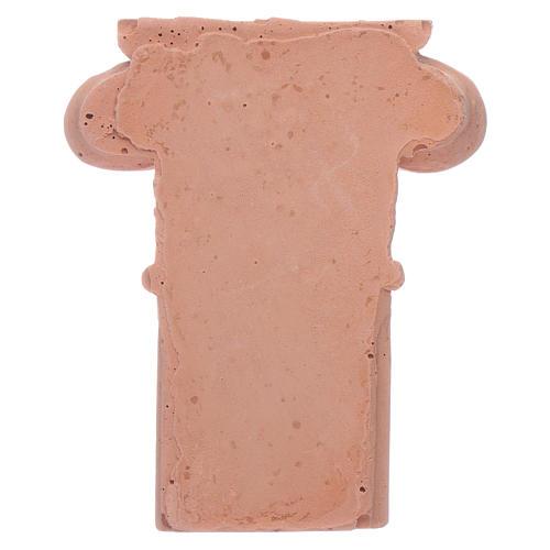Semi-capitel de terracota 2