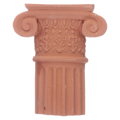 Semi capitello in terracotta 1