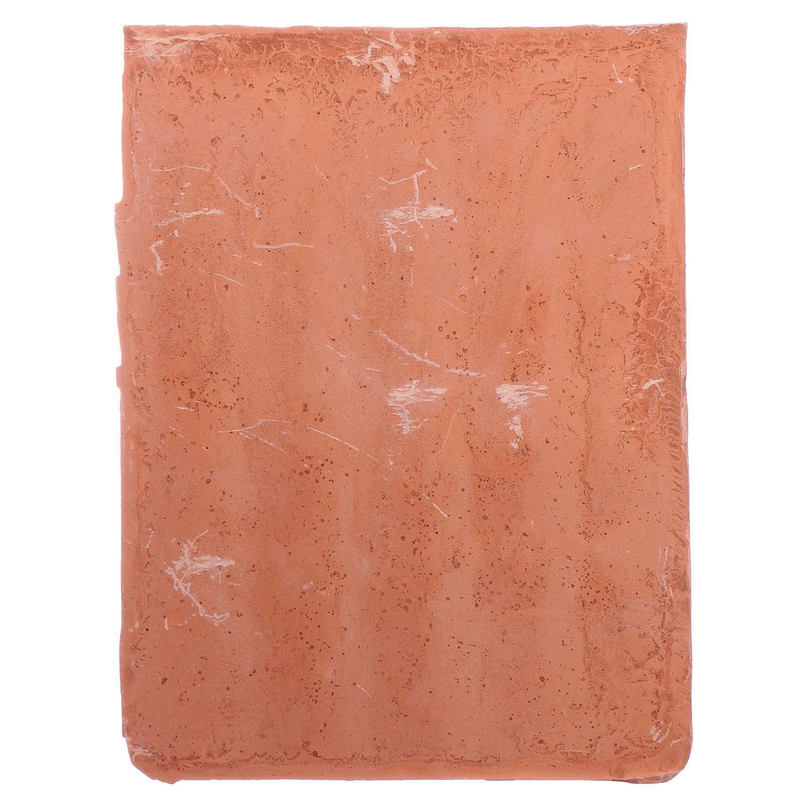 Shingle panel 15x10 cm in resin 4