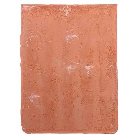 Shingle panel 15x10 cm in resin s4