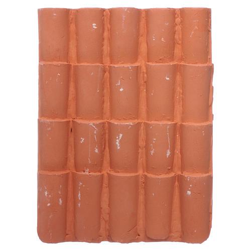 Panel tejas 15x10 cm de resina 2
