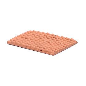 Accesorio techo con tejas de resina 10x5 cm s2