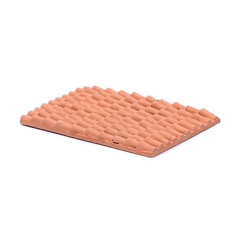 Accesorio techo con tejas de resina 10x5 cm 2
