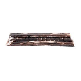 Acessórios de Casa para Presépio: Trave romana 2,7x19,4x3,8 cm