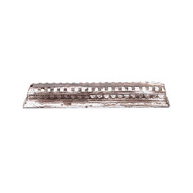 Home accessories miniatures: Roman beam antient effect  5x30x5 cm