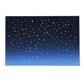 Cielo luminoso led e fibra ottica 40x60 cm s1