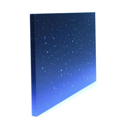 Cielo luminoso led e fibra ottica 40x60 cm 2
