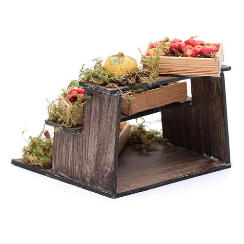 Banco di frutta e verdura presepe napoletano fai da te 3