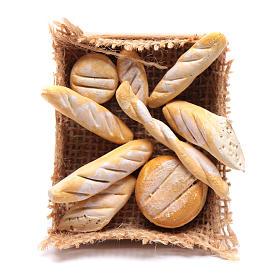 Cesto con varie forme di pane presepe napoletano fai da te s1
