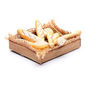Cesto con varie forme di pane presepe napoletano fai da te s2