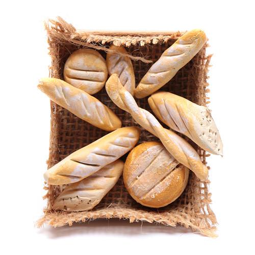 Cesto con varie forme di pane presepe napoletano fai da te 1