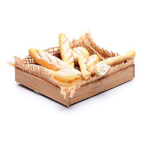 Cesto con varie forme di pane presepe napoletano fai da te 2