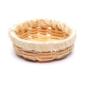 Wicker Basket for Eggs 1x3 cm Nativity s2
