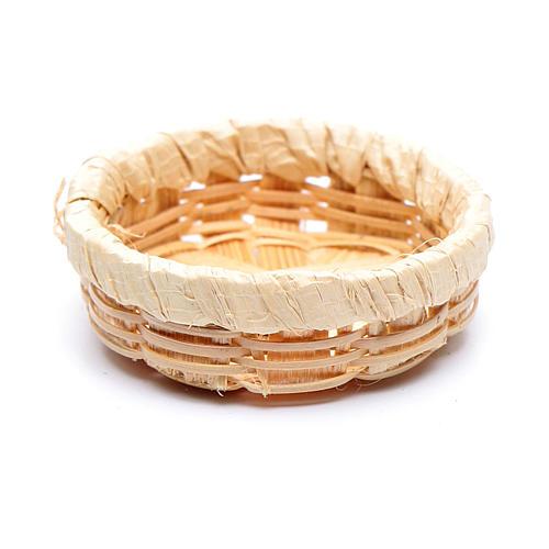Wicker Basket for Eggs 1x3 cm Nativity 2