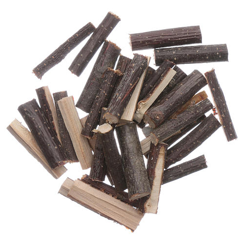 Finely chopped wood 100 gr Nativity Scene 1